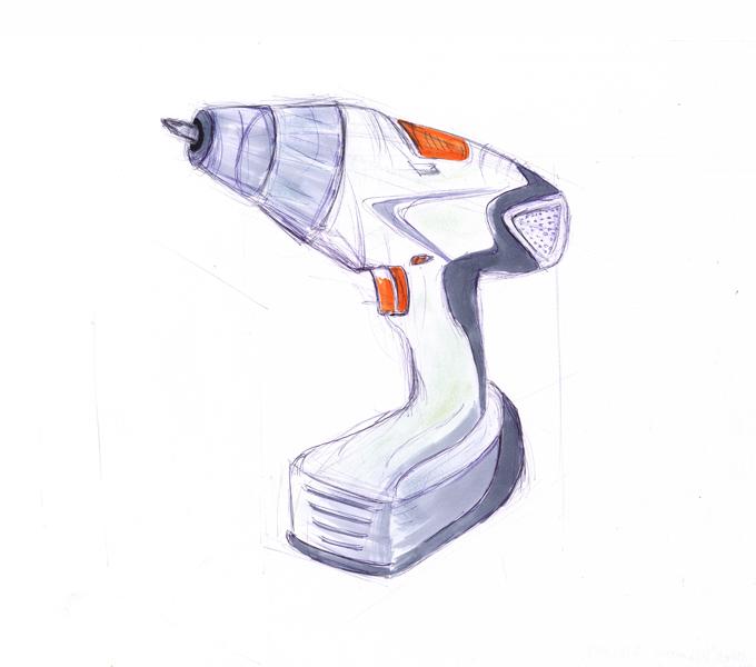 151029 Design -1- Cordless Screwdriver